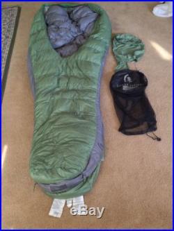 Sierra Designs Backcountry Bed 800F 3 Season Sleeping Bag Long