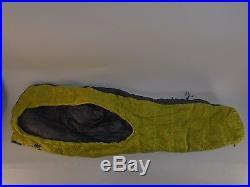 Sierra Designs Backcountry Bed Elite Sleeping Bag 39 Degree Down SHORT /33216/