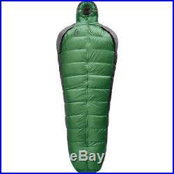 Sierra Designs Mobile Mummy Sleeping Bag 800fill Down 15F Willow Long