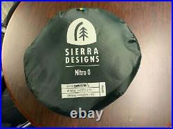 Sierra Designs Nitro 0 Sleeping Bag