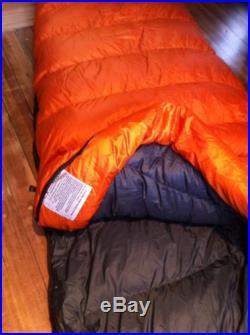 Sierra Designs Ridge Runner 15 Goose Down Regular Sleeping Bag 46 oz MINT