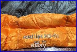 Sierra Designs Wicked Light 45 Degree 800 Fill Down Ultralight Sleeping Bag L@@K