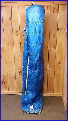 Sierra Designs Zissou 23 Down 3 Season Sleeping Bag Long New Sale $180