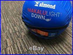 Simond Makalu I Light Down Sleeping Bag 63136/50