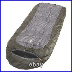 Sleeping Bag Mummy Camping Cold Weather 0 Degree Hiking Outdoor Gray Brown