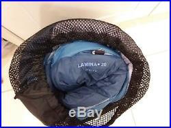 Sleeping bag, Mountain Hardwear, Lamina 20, 3 season, never used, very clean