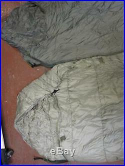 Slumberjack All Weather Military Sleep System Sleeping Bag Set Varicom Bivy Sack