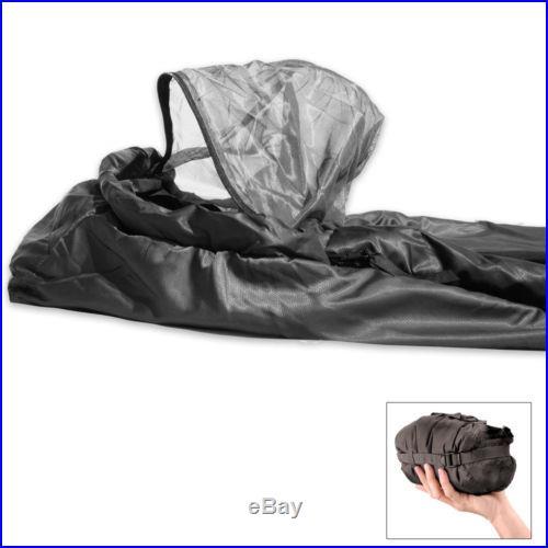 Snugpak Antibacterial Jungle Sleeping Bag w/ Built in Mosquito Net 92261
