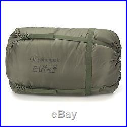 Snugpak Softie Elite 4 Military Army Camping Hiking 4 Season Sleeping Bag Green