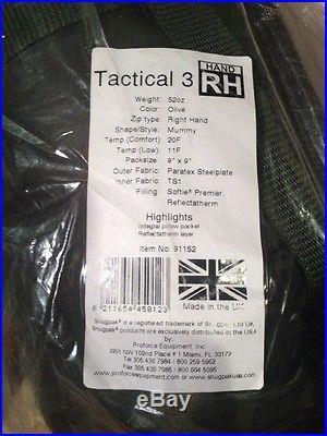 Snugpak Tactical 3 Olive Sleeping Bag