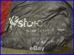 Stoic Somnus 30F Down Sleeping Bag Long Length, Center Zip, 800 Fill Power