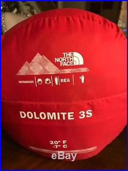 SupremeX /The North Face Dolomite S3 Bandana Paisley Sleeping Bag RED Authentic