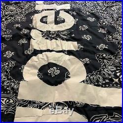 Supreme x The North Face Bandana Paisley Dolomite 3S Sleeping Bag FW14 NAVY Used