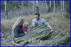 TETON Sports Mammoth Queen-Size Double Sleeping Bag Warm and Comfortable for