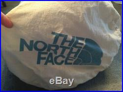THE NORTH FACE 1 PERSON SLEEPING BAG GOOSE DOWN LT With 1 L DUFFEL BAG + 1 SMALL