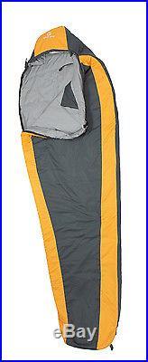 Tahoe Gear Ultra Light 1000 Camping Mummy 32 Degree Sleeping Bag Black/Orange