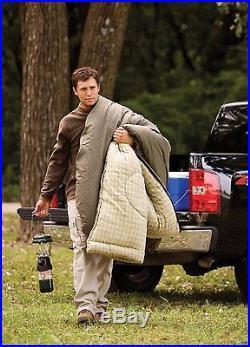 Tall Sleeping Bag, Coleman Big Game -5 Degree Big and Tall Sleeping Bag Olive