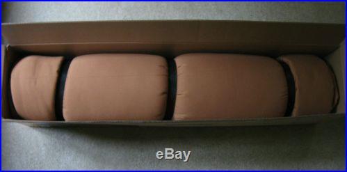 Teton Sports Deer Hunter 0 Degree Sleeping Bag Brown 90x39 Right Zip NEW in box