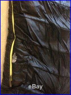 The North Face Dark Star Sleeping Bag 0F -18C Regular Right (New) Mummy Black