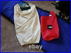 The North Face Foxfire Down 5°F Mummy Sleeping Bag Blue/Black LONG