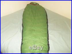 The North Face Maxwell's Demon Foxfire 0F Goose Down Sleeping Bag Reg SUPER SOFT
