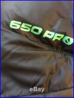 The North Face Superlight 650 Down Green Kazoo Sleeping Bag Womens Mummy 4Season