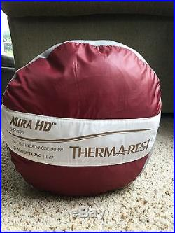 Thermarest W's Mira 15 Degree Sleeping Bag Long