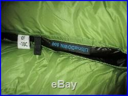 UGQ Bandit 0 degree Backpacking Quilt Ultralight Custom Underground Down Green