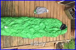 UL Mont Bell Super Sprial Stretch Down Hugger Sleeping Bag 800 #3 Long 30 Degree