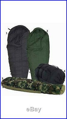 USGI 4 Piece Modular Sleeping Bag System with Woodland Goretex Bivy LN