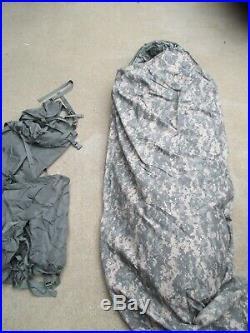USGI 5 Piece Modular Sleep System ACU Digital Camo Sleeping Bag Army Military