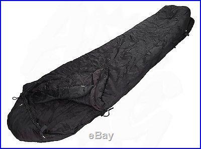 USGI Black Intermediate Cold Weather MSS Army Sleeping Bag Grade 2 Very Good