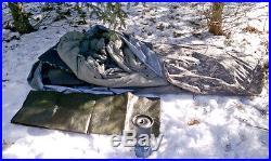 USGI Military ACU 5 Piece Modular Sleeping Bag Sleep System withGoretex Bivy Cover