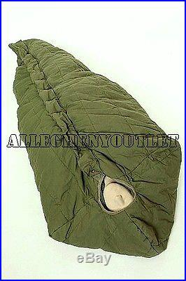 USGI Military Army -10° ICW Intermediate MUMMY SLEEPING BAG OD Green NICE