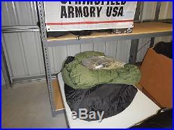USGI Military Modular Sleep System Woodland Camo
