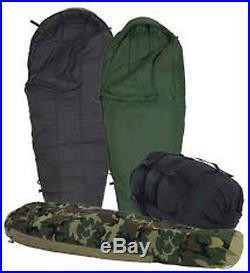 USGI Modular Sleep System Woodland Camo Sleeping Bag US Military 4 pc set good