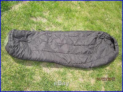 USMC Military Compression Stuff Sack & Intermediate Black Sleeping Bag Modular