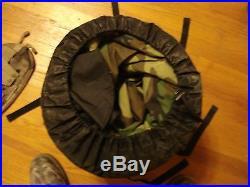 USMC US Military 4 Piece Modular Sleeping Bag Sleep System GORTEX Bivy