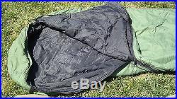 USMC US Military 4 Piece Modular Sleeping Bag Sleep System With GORETEX Bivy NEW