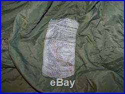 USMC US Military 4 Piece Modular Sleeping Bag System GORTEX Bivy REPAIRABLE