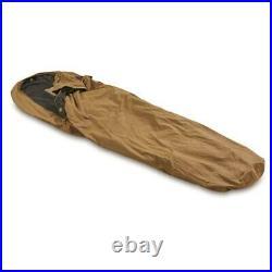 US Genuine Issue Coyote Waterproof Windproof Sleep System Bivy Cover, USED