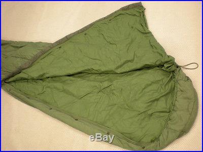 US MILITARY PATROL SLEEPING BAG. OD Green. Good condition Tennier Industries