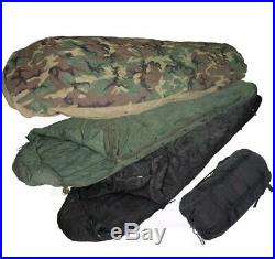 US Military 4 Piece Modular Sleeping Bag Sleep System Used good condition