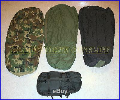 US Military 4 Piece Modular Sleeping Bag Sleep System w/GORTEX Bivy -40° VGC