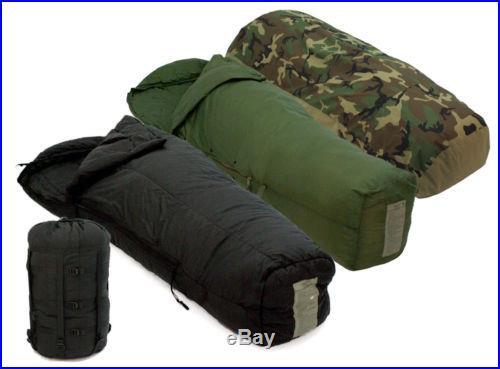 US Military 4 Piece Modular Sleeping Bag Sleep System w/ Gore-Tex Bivy MSS Fair