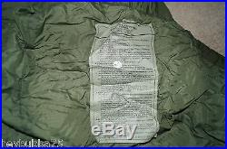 US Military 4 Piece Modular Sleeping Bag Sleep System withGORTEX Bivy Good