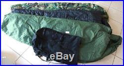 US Military 4 Piece Modular Sleeping Bag Sleep System withGORTEX Bivy excellent