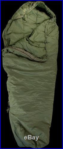 US Military 4 Piece Modular Sleeping Bag Sleep System with Gore-Tex Bivy