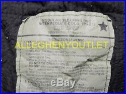 US Military 4 Piece Modular Sleeping Bag Sleep System with Gore-Tex Bivy EXCELLENT