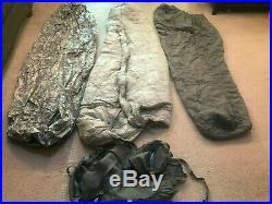 US Military ACU 5 Piece IMPROVED MODULAR SLEEPING BAG SLEEP SYSTEM